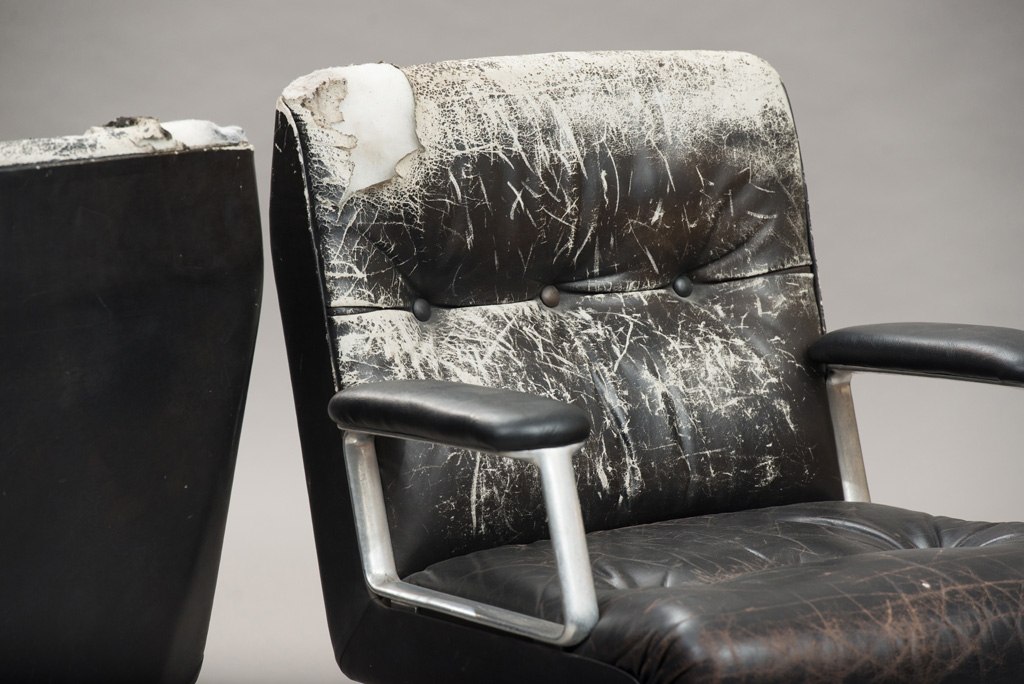 Cadeiras de Escritório P125 de Osvaldo Borsani para a Tecno | Um Par | 3