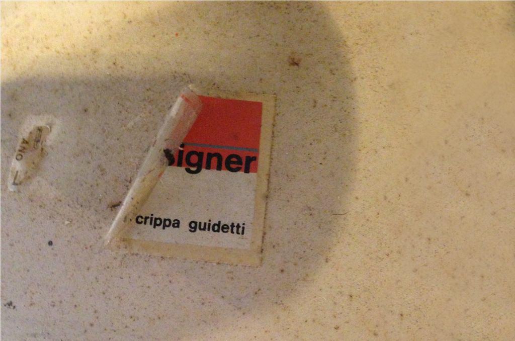 Candeeiro de Teto Anos 60 Pia Guidetti Crippa para a Lumi | 6