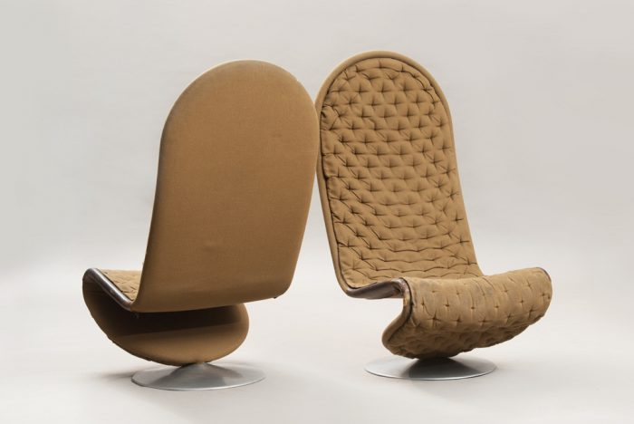 Verner Panton Lounge Chairs System 1-2-3 de Luxe