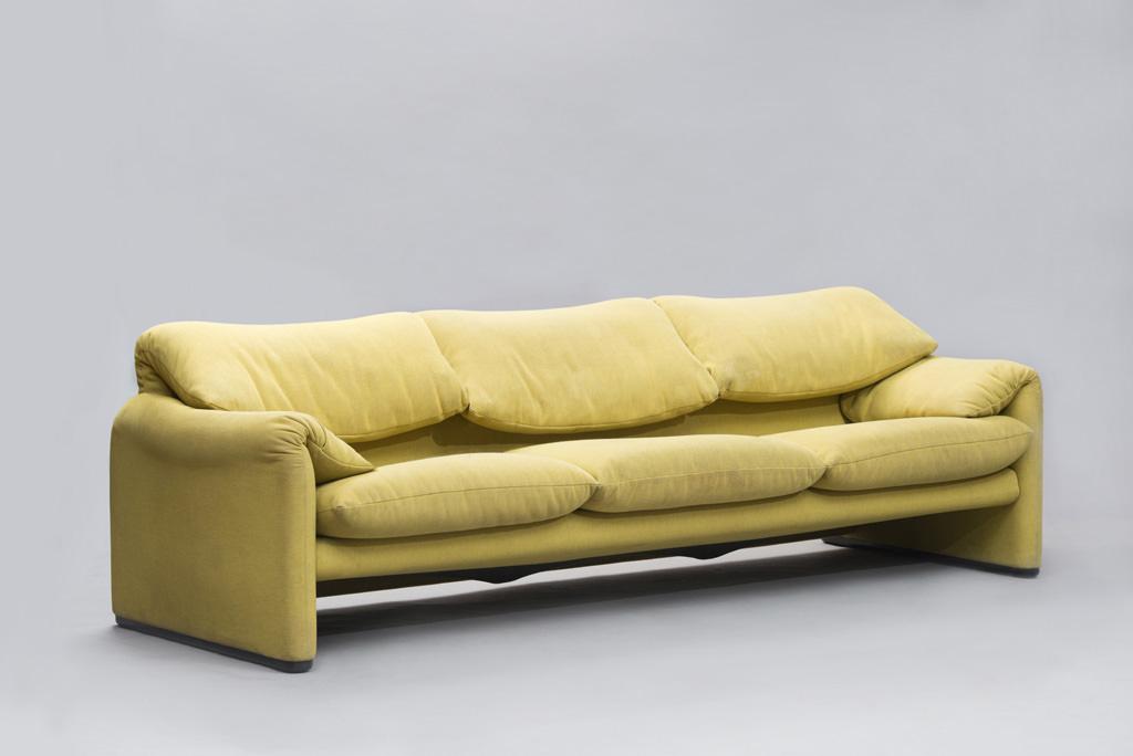 Vico Magistretti 'Maralunga' Sofa for Cassina