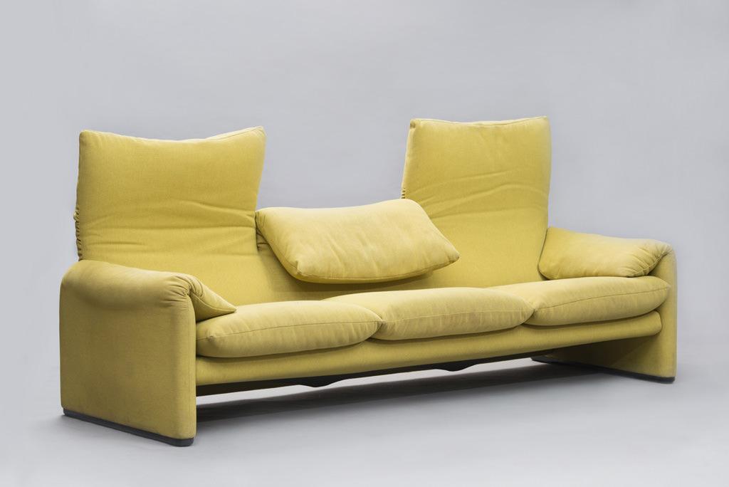 Vico Magistretti 'Maralunga' Sofa for Cassina | 2