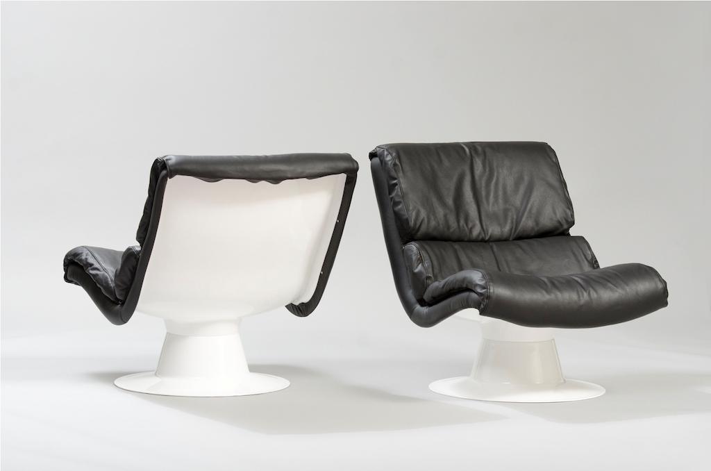 Cadeiras Saturn Yrjö Kukkapuro para a Haimi