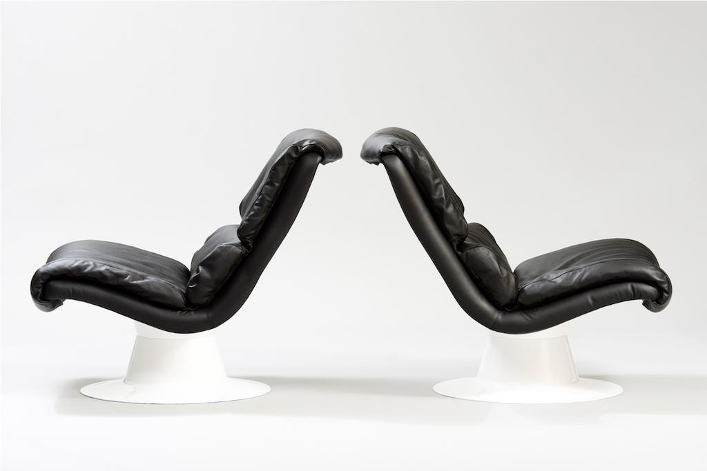 Cadeiras Saturn Yrjö Kukkapuro para a Haimi | 1