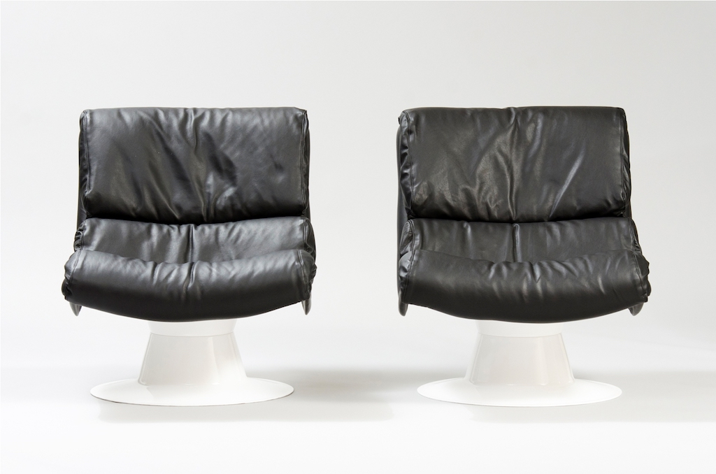 Cadeiras Saturn Yrjö Kukkapuro para a Haimi | 2