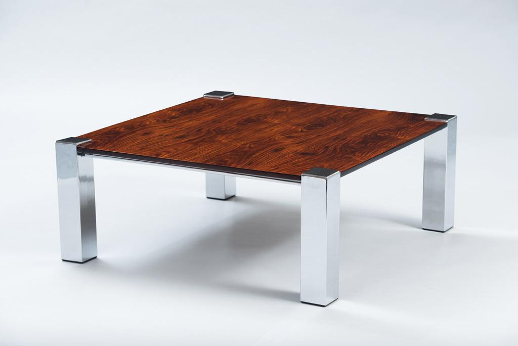 Italian Rosewood Coffee Table