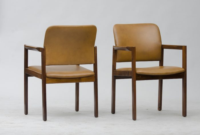 Bjerringbro Kontormøbler A/S Rosewood Armchairs Set of Six