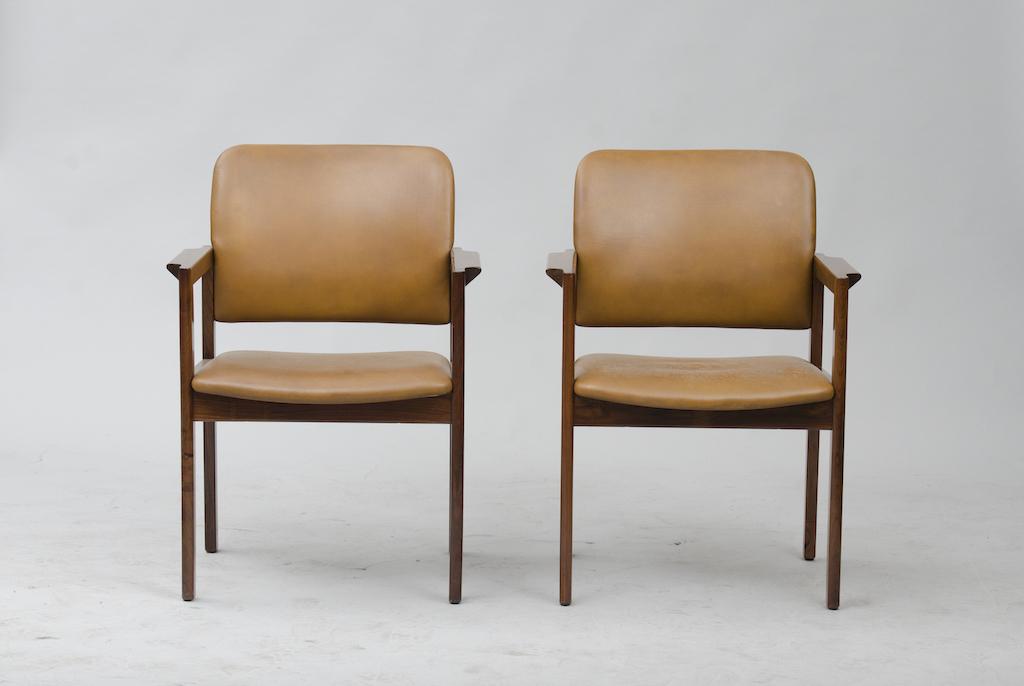 Cadeiras de Braço em Pau-santo produzidas por Bjerringbro Kontormøbler A/S | 3