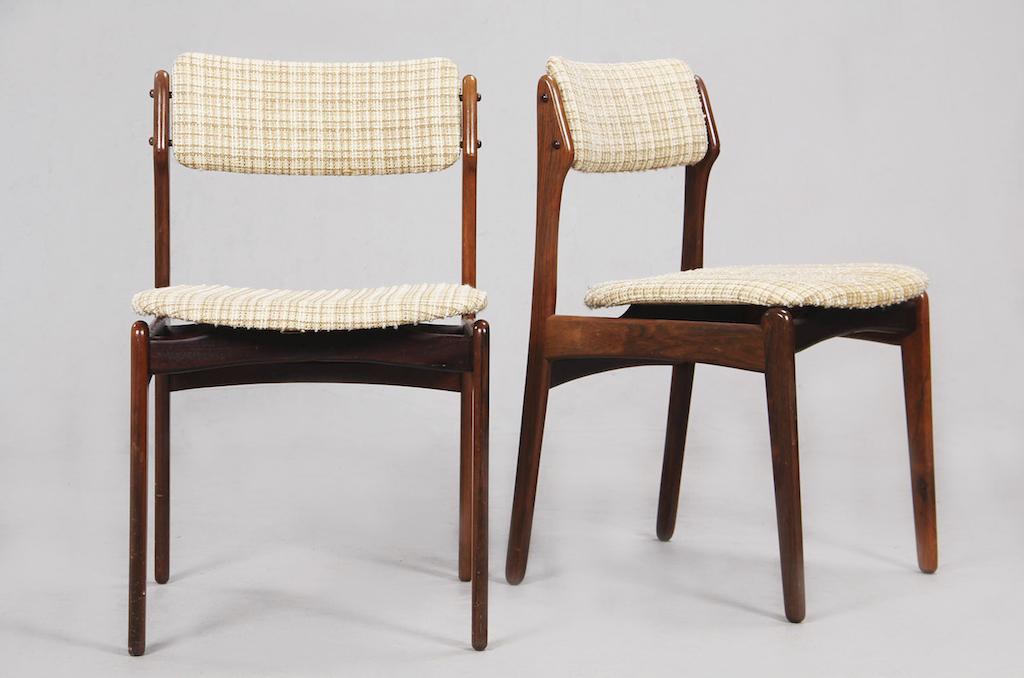 Cadeiras de Jantar em Pau-santo de Erick Buch para Oddense Maskinsnedkeri | 3