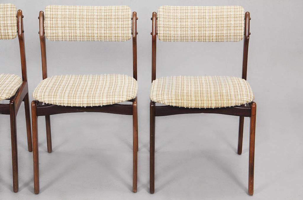 Cadeiras de Jantar em Pau-santo de Erick Buch para Oddense Maskinsnedkeri | 2