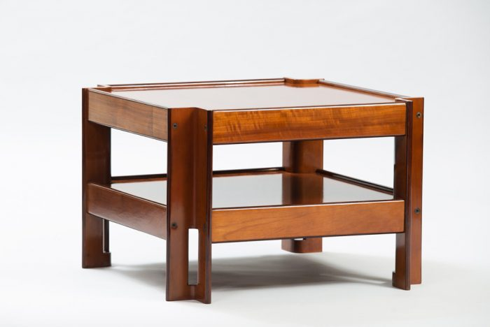 Mid-century Modern Formanova Walnut Side Table