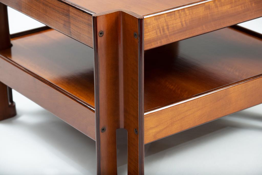 Mid-century Modern Formanova Walnut Side Table | 1