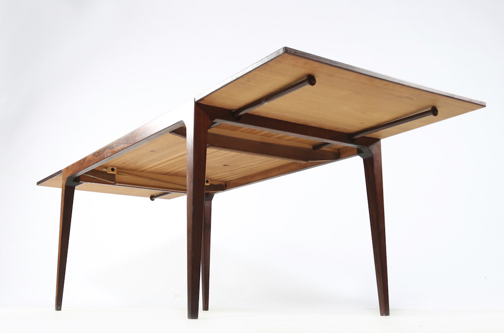 Severin Hansen Jr. Mid-Century Modern Rosewood Dining Table For Haslev Mobelfabrik | 4