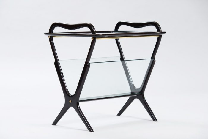 Ico Parisi Side Table With Magazines Rack for De Baggis