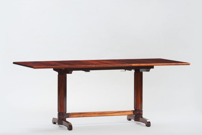 Mid-century Modern Italian Rosewrood Dining Table