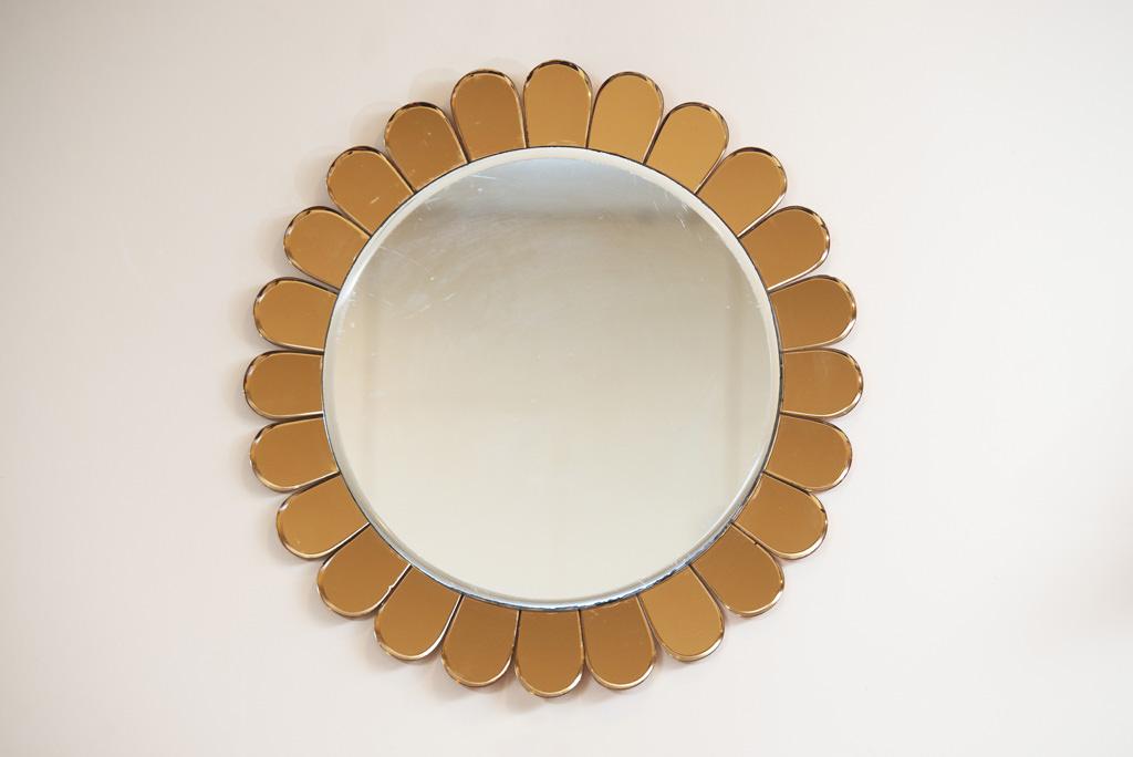 Espelho Flor Cristal Art