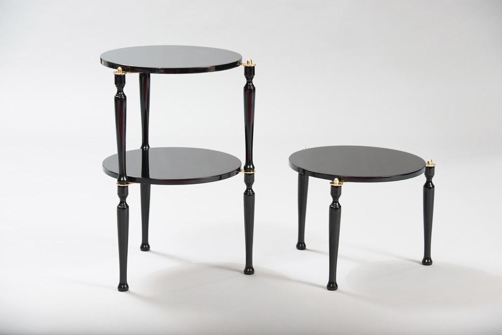 Mid-century Modern Three Stackable Italian Tables | 1