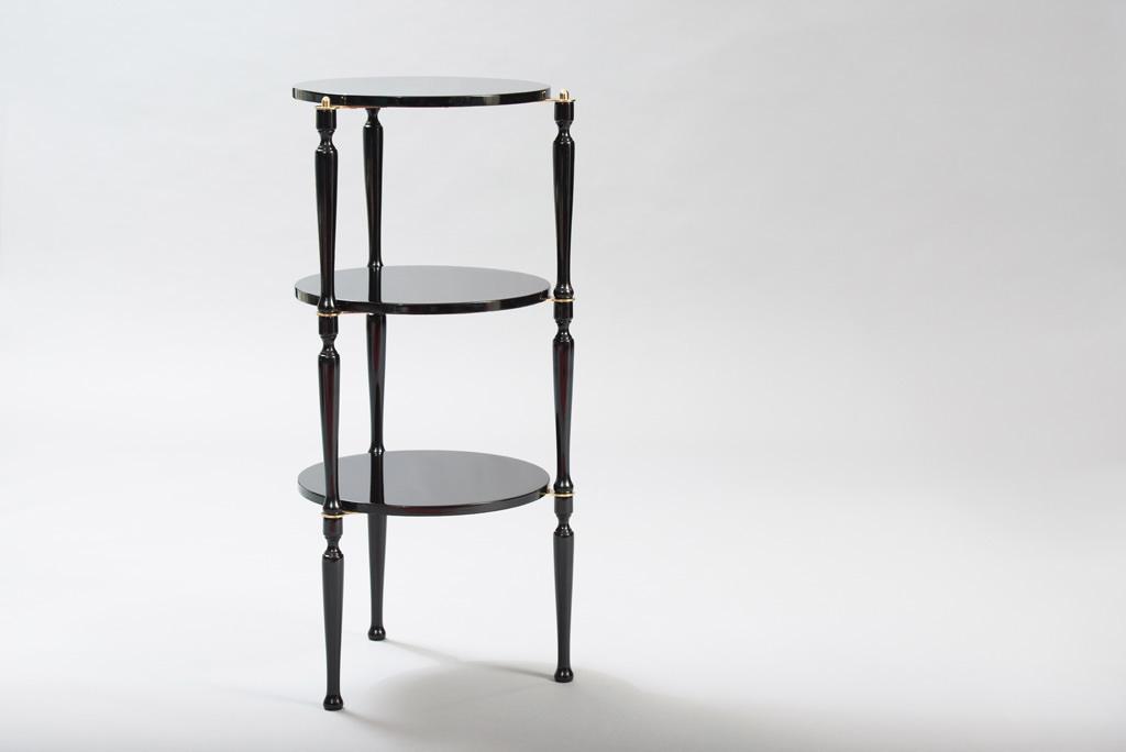 Mid-century Modern Three Stackable Italian Tables | 2