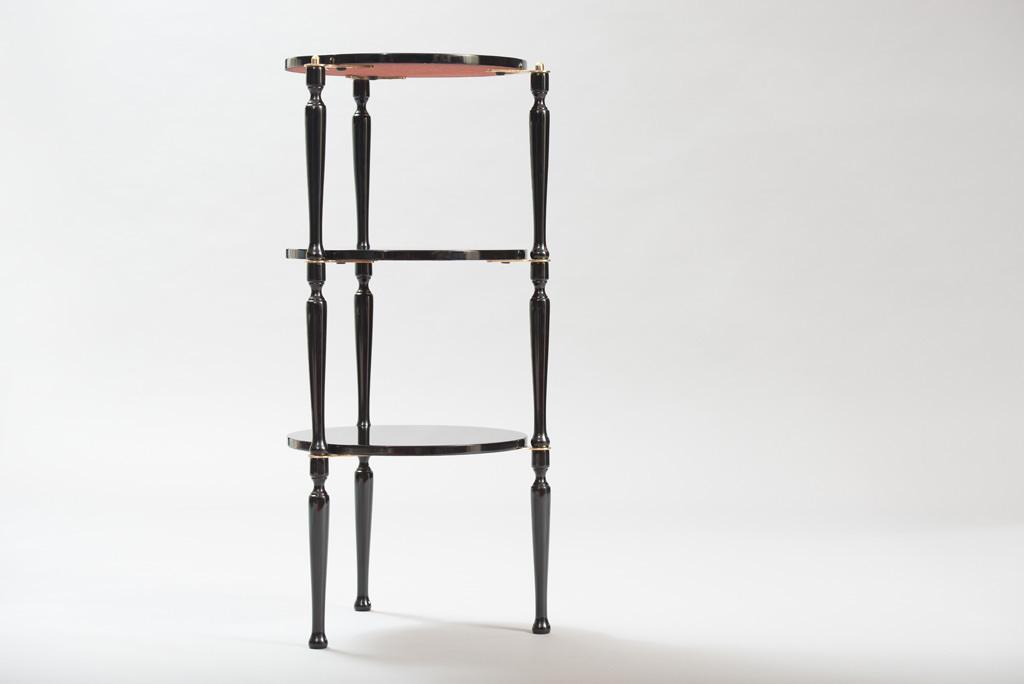Mid-century Modern Three Stackable Italian Tables | 3