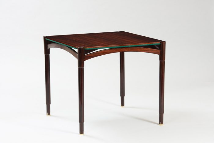 Mid-century Modern Rosewood Card Table