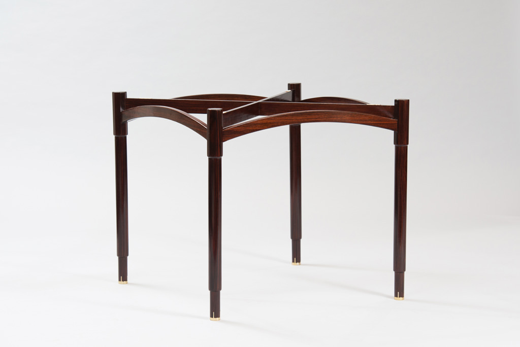 Mid-century Modern Rosewood Card Table | 1
