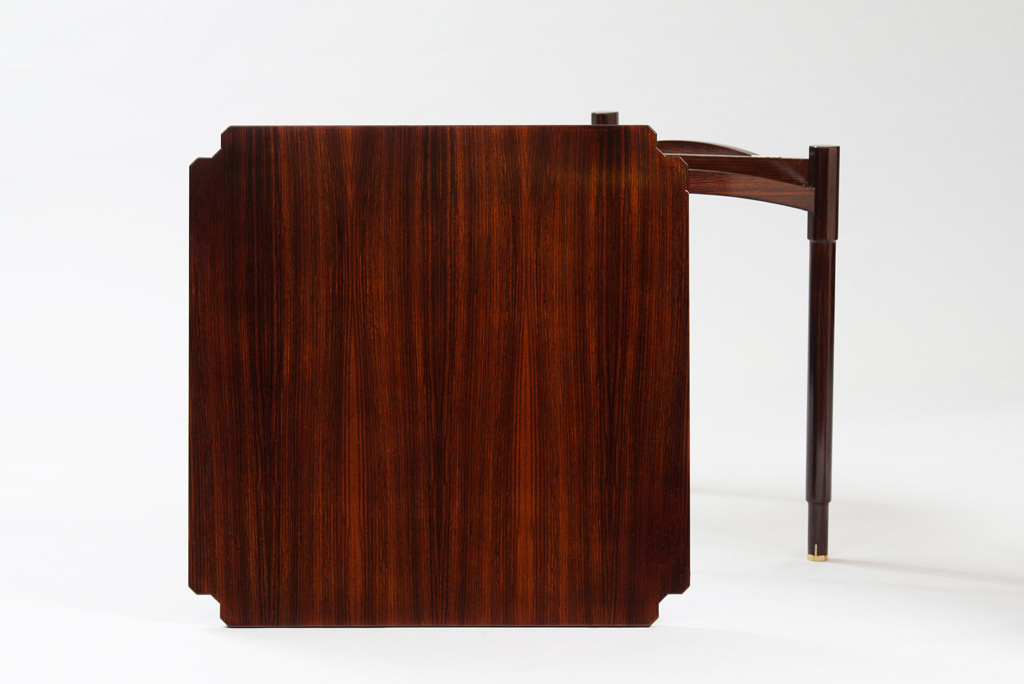 Mid-century Modern Rosewood Card Table | 4