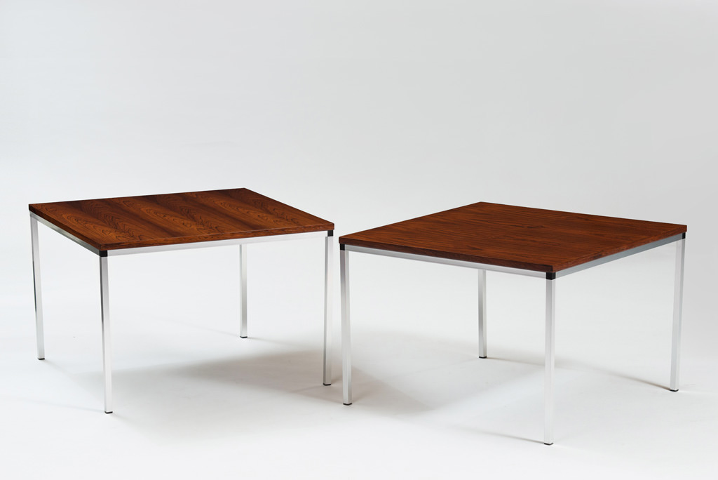 Mid-century Modern Rosewood Side Tables