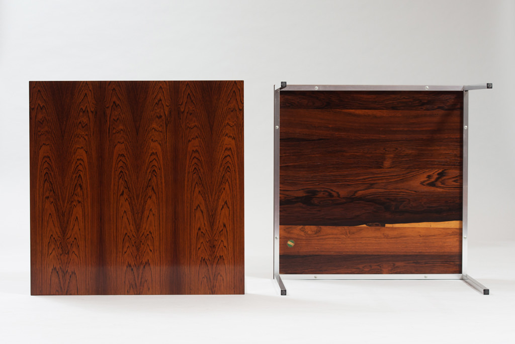 Mid-century Modern Rosewood Side Tables | 1