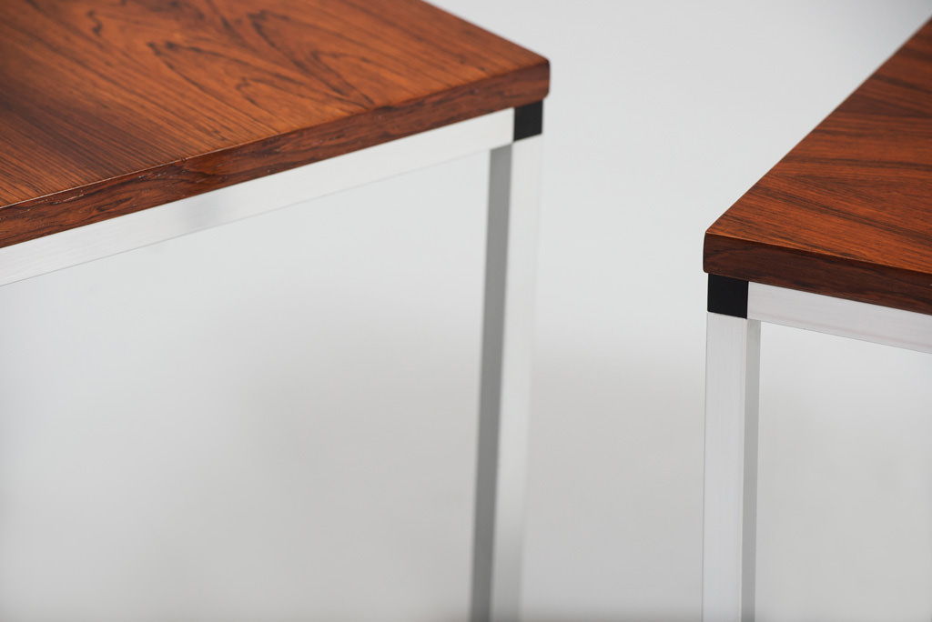 Mid-century Modern Rosewood Side Tables | 2