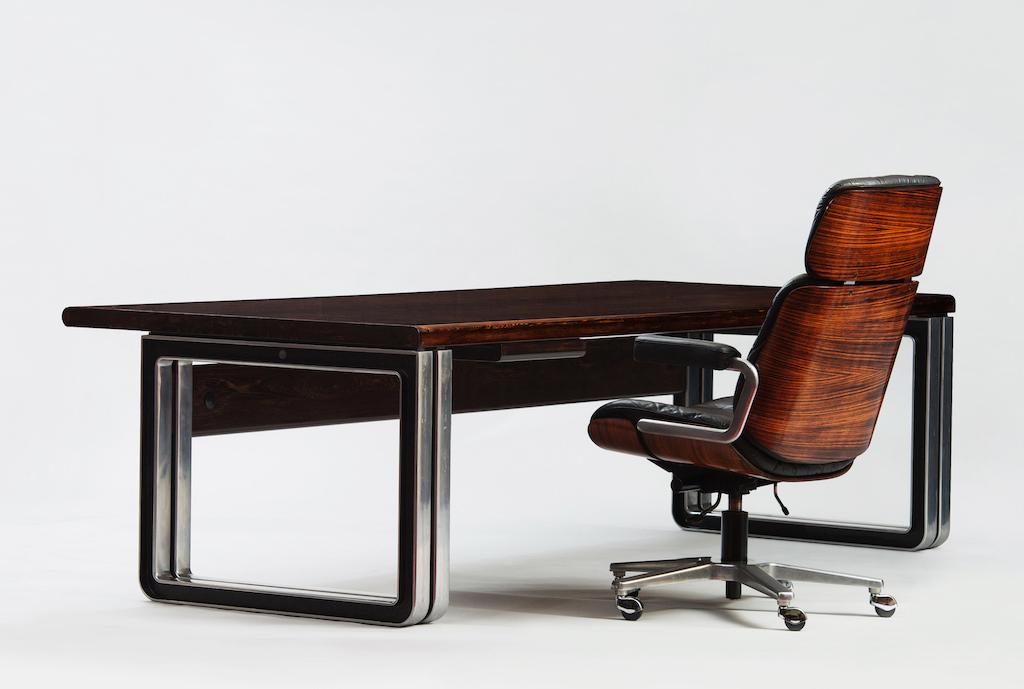 Osvaldo Borsani Large Desk for Tecno | 4