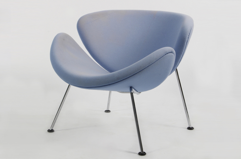 Cadeira F437 Orange Slice de Piere Paulin para a Artifort