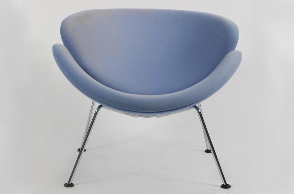 Cadeira F437 Orange Slice de Piere Paulin para a Artifort   1