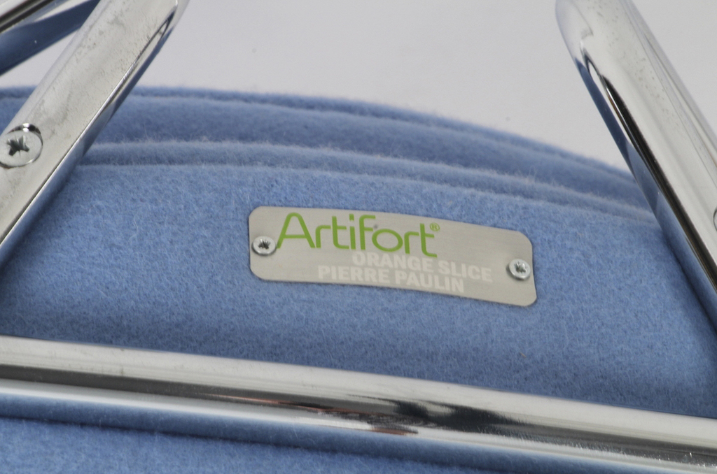 Cadeira F437 Orange Slice de Piere Paulin para a Artifort   6