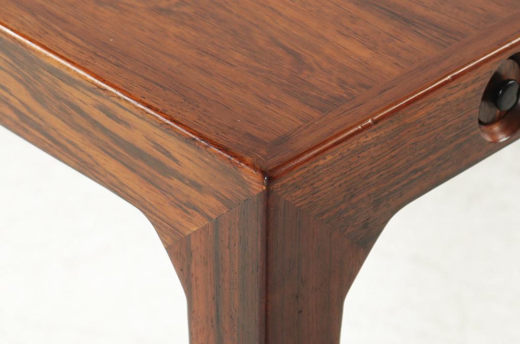 Severin Hansen Jr. Mid-Century Modern Rosewood Dining Table For Haslev Mobelfabrik | 6