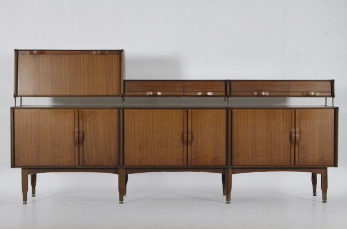 Mid-century Modern Walnut Vittorio Dassi Sideboard