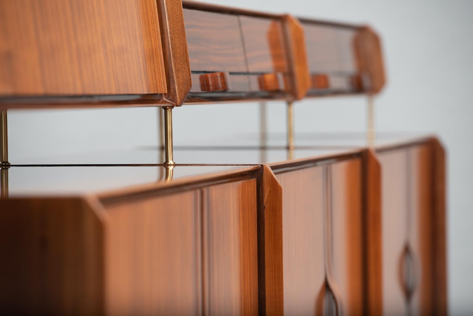 vittorio dassi walnut sideboard | 2