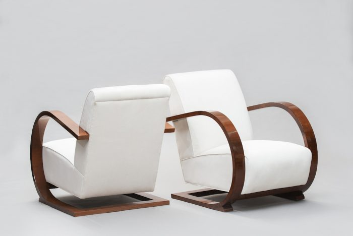 Art deco armchairs | 2