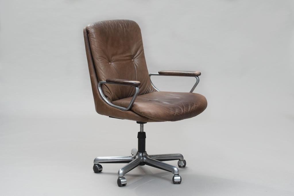 Cadeira de escritório Italiana anos 70
