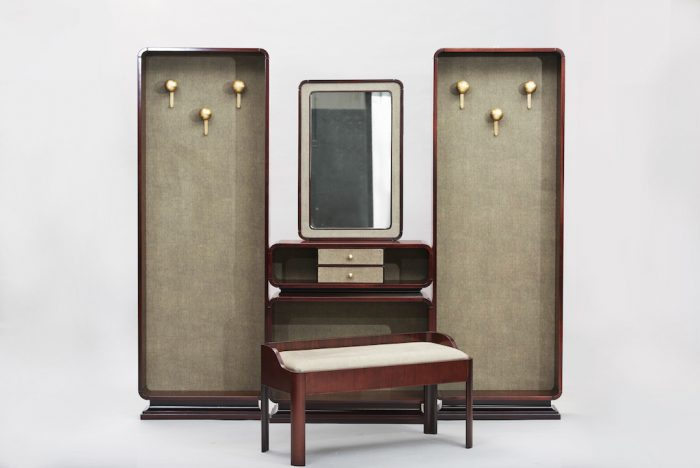 hall stand rosewood set