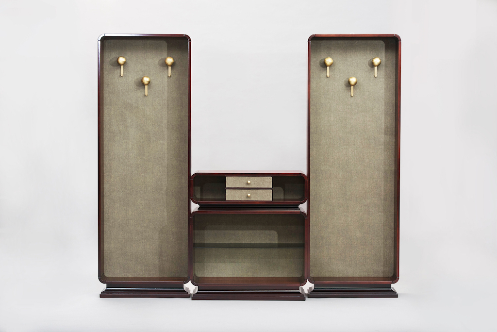 hall stand rosewood set | 2
