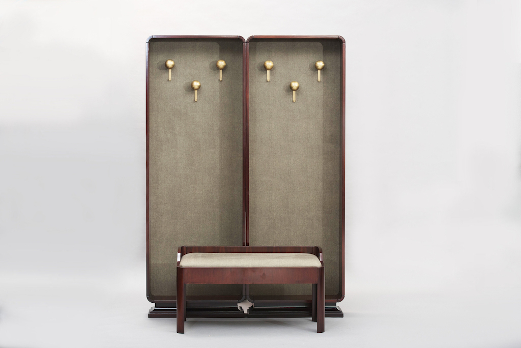 hall stand rosewood set | 3