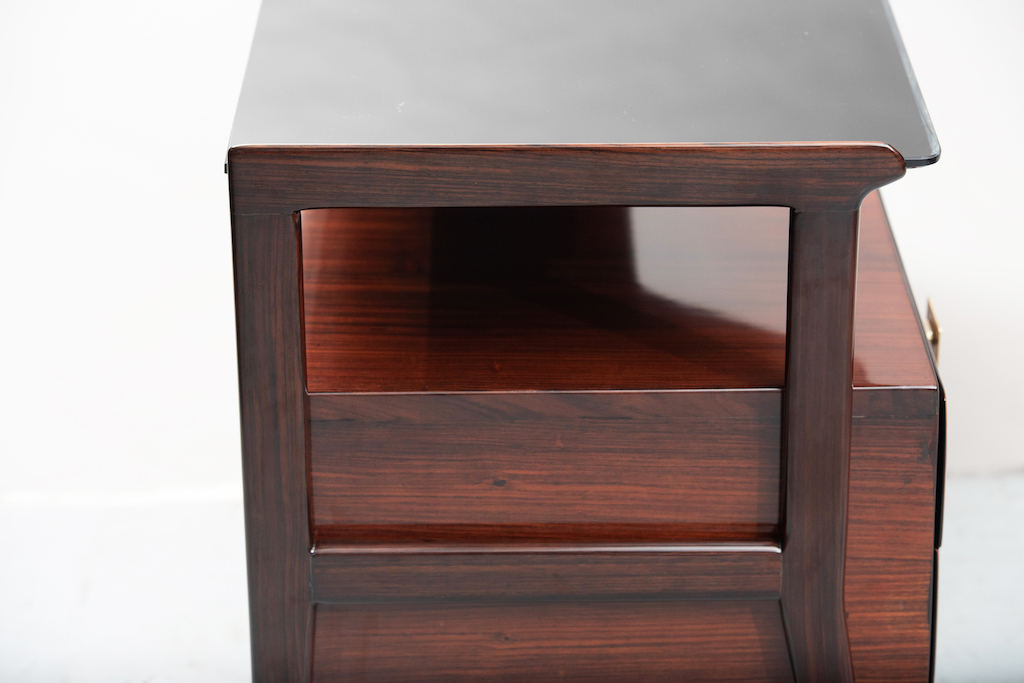 Italian mid-century rosewood chest | 10