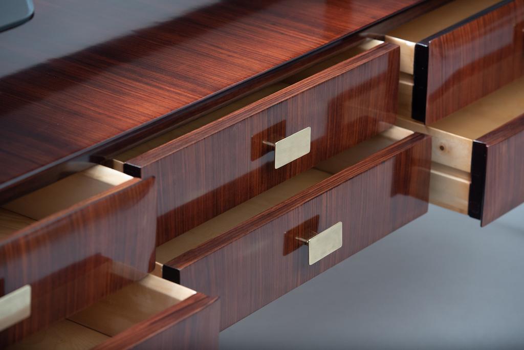 Italian mid-century rosewood chest | 5