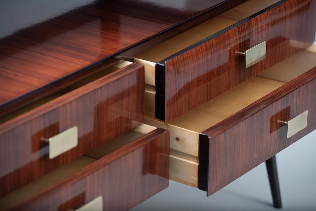 Italian mid-century rosewood chest | 6