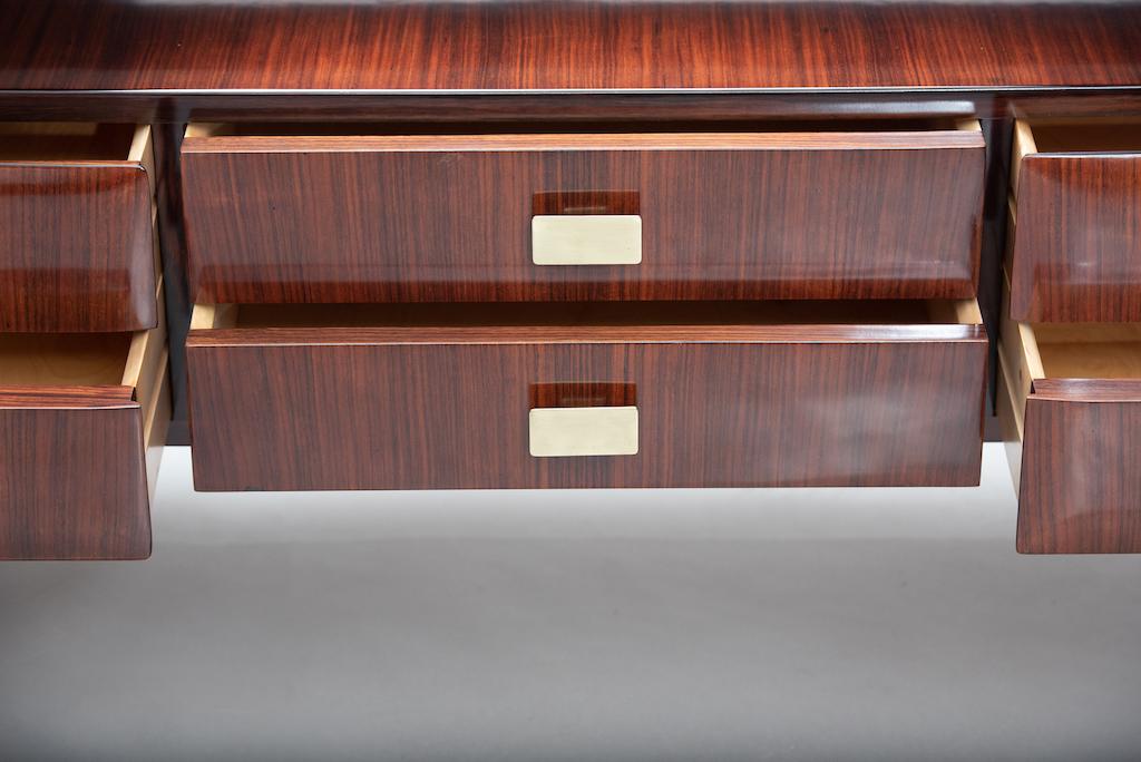 Italian mid-century rosewood chest | 7