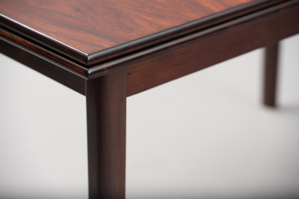 Rosewood Danish dining table | 3