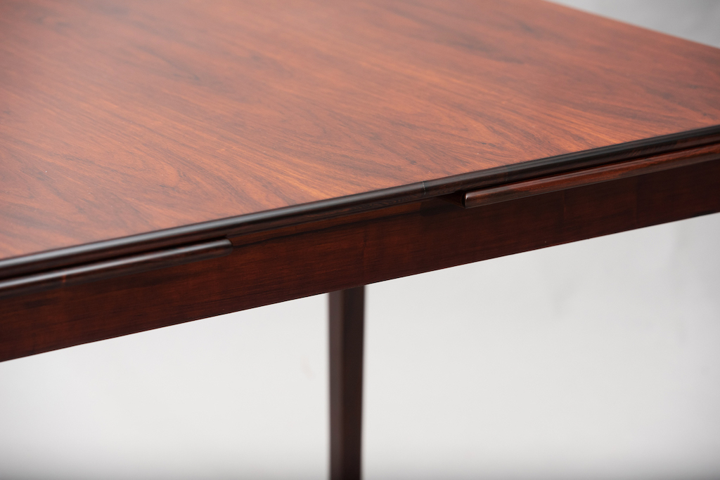 Rosewood Danish dining table | 4