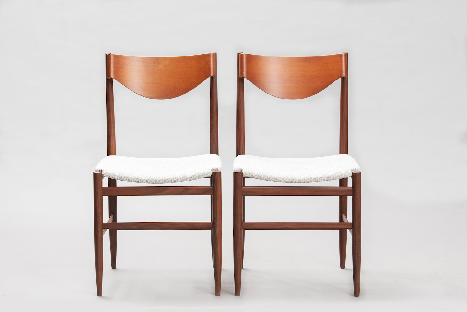 Gianfranco Fratinni dining chairs for Cassina | 1