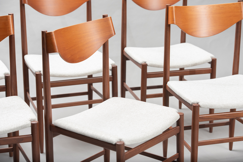 Gianfranco Fratinni dining chairs for Cassina | 11
