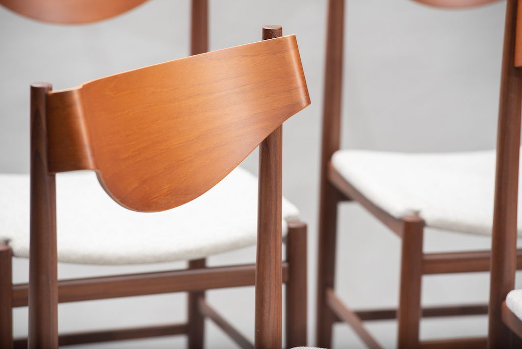 Gianfranco Fratinni dining chairs for Cassina | 12