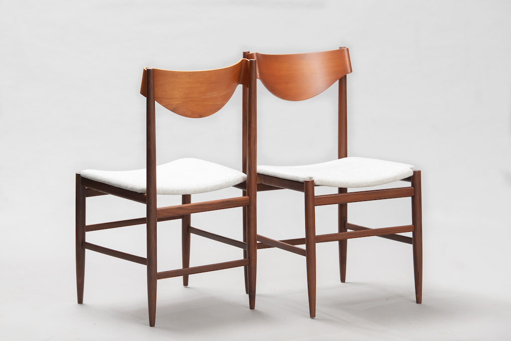 Gianfranco Fratinni dining chairs for Cassina | 3